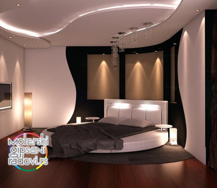 Modern pop false ceiling classy ceiling design for master bedroom - Spu Teni Plafoni Og Gipsa Molerski Gipsani Dekorativni